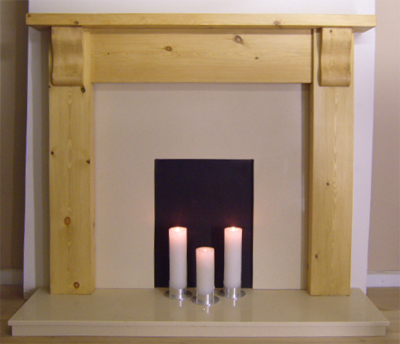 Oak Fireplace Fire Surrounds
