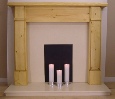 Henley Pine Fireplace Surround