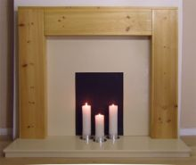 Box Pine Fire Surround